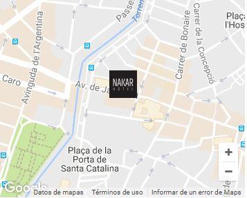 mapa nakar hotel