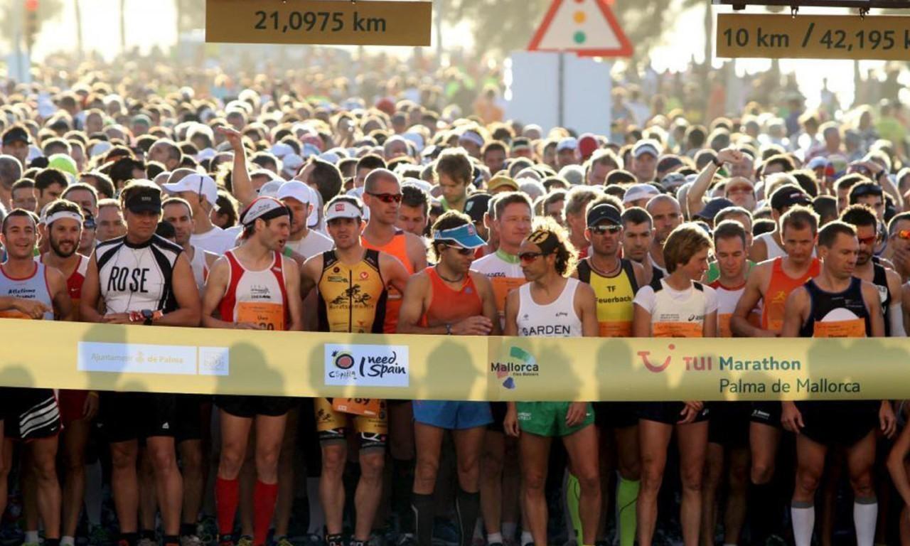 Nakar Hotel Palma Marathon Finish Line