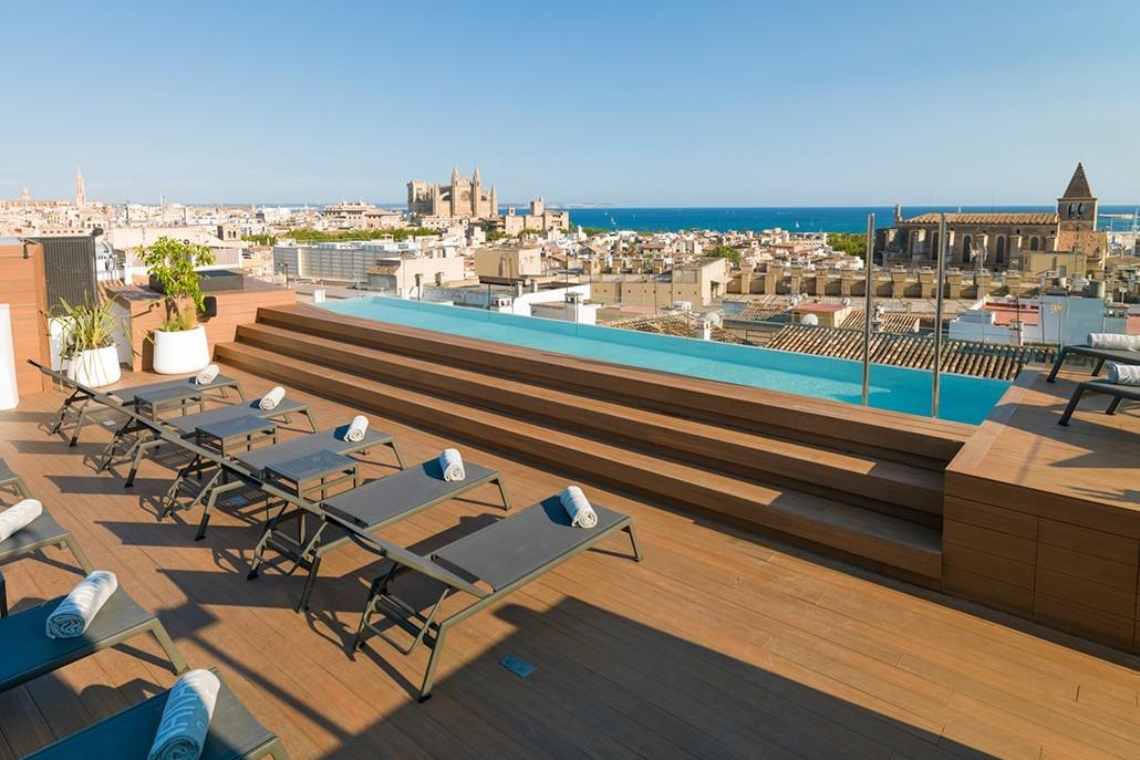 Rooftop Palma Mallorca Hotel Nakar