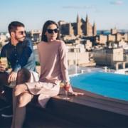 best rooftop bar palma nakar hotel mallorca