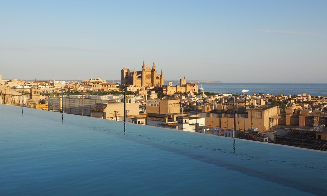 best rooftop views palma nakar hotel mallorca