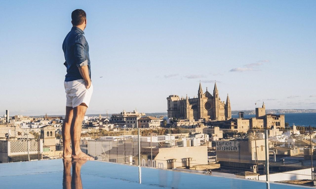 rooftop pool palma nakar hotel