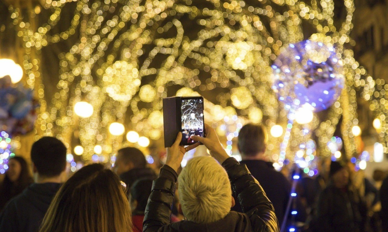 november musts encendido luces navidad nakar hotel palma