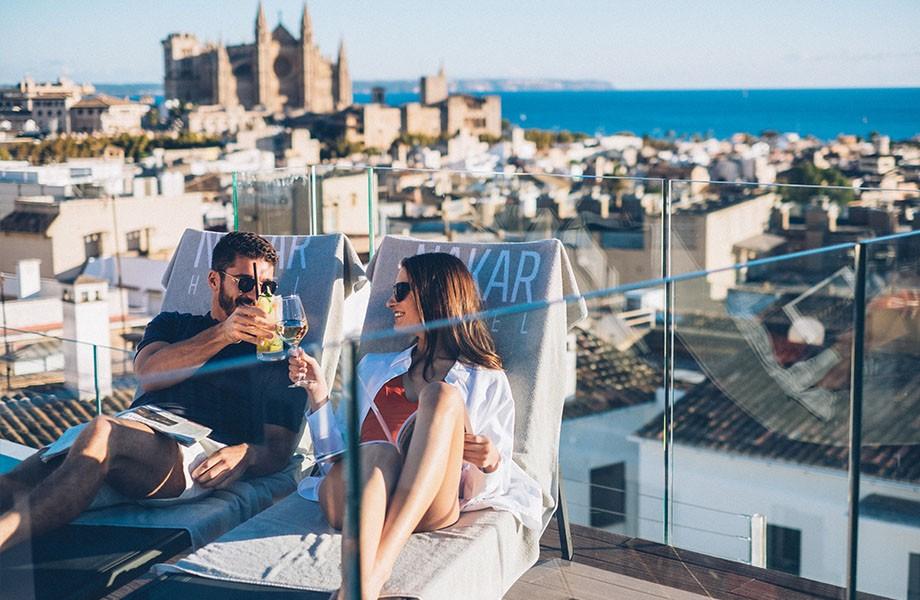 Nakar hotel rooftop pool Mallorca 2020 postpone